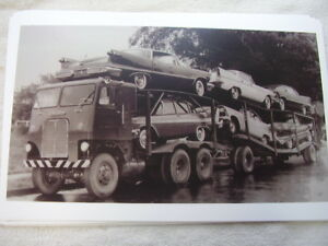 1958 Chrysler An Plymouth On Car Carrier 11 X 17 Photo Picture