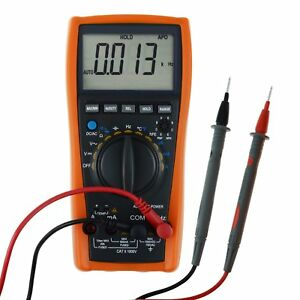 Us Seller Vc99 Multimeter Tester Thermometer Resistance Capacitance Ac