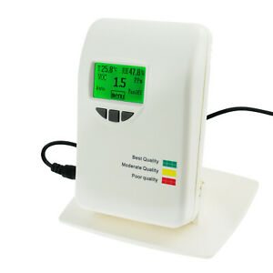 Voc Tester Air Quality Monitor Indicator Meter Gas Detector Temperature 0 50ppm