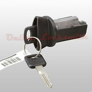 New Ford Bronco 1996 1997 Coded Ignition Switch Cylinder Two Keys W Logo