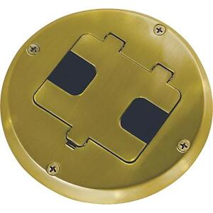 Hubbell Raco Floor Box Outlet Kit