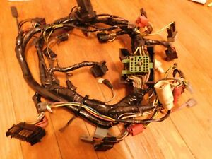 1971 Ford Mustang And Mach 1 Under Dash Wiring Harness For 3 Gauge Pod Non Tach
