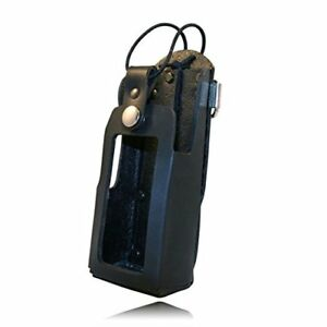 Boston Leather Radio Holder With D Rings For 5480rc 1