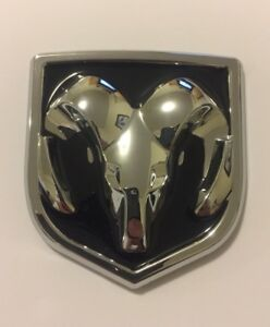 05 10 Dodge Charger Or Magnum Emblem Chrome Badge Logo Sticker Decal Ram Head