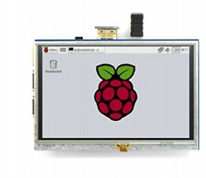 Raspberry Pi 5 Inch Display Resistive Touch Screen Tft Lcd Display Hdmi Monitor