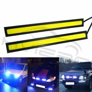14cm White Dc 12v 60led Cob Car Auto Drl Driving Daytime Running Lamp Fog Light