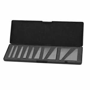 10pcs 1 30 Degree Angle Block Set With Case For Lathes Milling Machinist Tool Mp