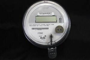 Itron 3 Phase Electric Meter Cl200 Fm16s 14 15 17 Cp1sdr2 120 480v 4wy 21 6kh