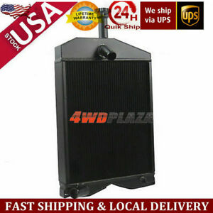 3row Replacement Massey Ferguson Tractor Radiator Fit 20c 230 245 Gas