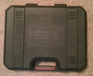 Matco Tools Empty Blow Mold Case 3 8 Impact Wrench Or 1 2 Drill 14 4v 18v 20v