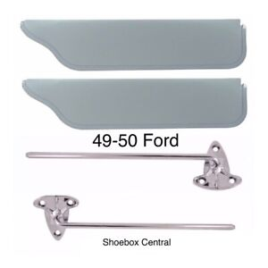 1949 1950 Ford Closed Car Sunvisor Kit