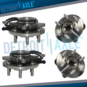 2007 2008 2009 2010 Ford Expedition Rwd Front Wheel Bearing And Rear Hub 4pc Kit