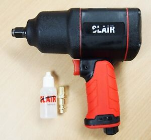 Slair 1 2 Composite Twin Hammer Air Impact Wrench Max Torque 1050ft Lb Xx 785