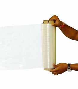 Plastic Roll Wrapping Film Sealer Shrink Wrap Clear Film Stretch Pallet Wrapper