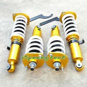 32 way Adjustable Coilovers Suspension Kit For 90 05 Mazda Miata Mx 5 Na nb New