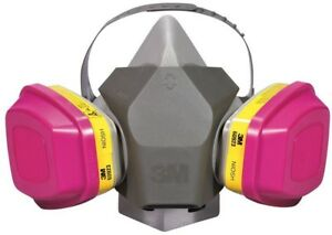 Dusk Mask Respirator Half Face Large Spray Painting Protection Drop Down 4 case