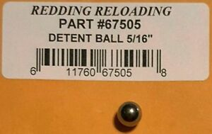 SIX NEW REPLACEMENTS FOR REDDING 67505 T7 TURRET DETENT BALL  - FREE SHIPPING