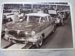 1956 Hudson On Assembly Line 11 X 17 Photo Picture