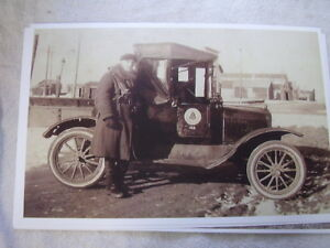 1915 Ford Model T Roadster Pickup Bell Telephone 11 X 17 Photo Picture