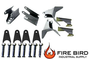 Triangulated 4 Link Brackets Only Weld On Steel Air Ride Suspension 4 Link