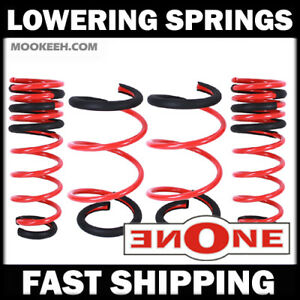 Mookeeh Mk1 Premium Lowering Springs For 2014 Up Toyota Corolla 2015 2016 2017