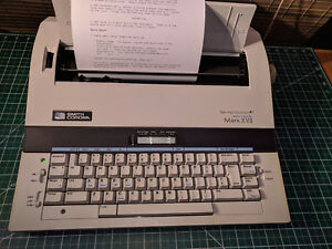 Smith Corona Electronic Typewriter Mark Xvii W memory Spell Check tested