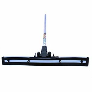 Commercial Push Brooms 24 Heavy Duty Floor Squeegee By unbreakable Handle