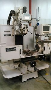 Milltronics Mb 19 A 4 Axis Cnc Bed Mill W i Digitizing