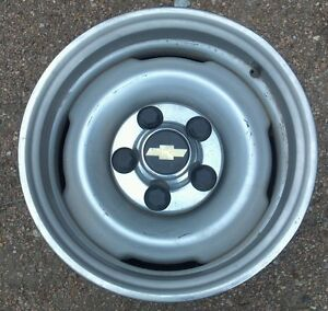 One 15 Inch Grey Wheel For 1998 Chevrolet Pickup 2wd 7 X15 As You See It Here