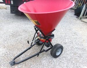 New Tar River Pts 160 Pull Type Spreader seeder can Ship Fast And Cheap