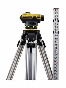 Cst berger 55 slvp32nd 32x Sal Automatic Optical Level Package With Tripod R