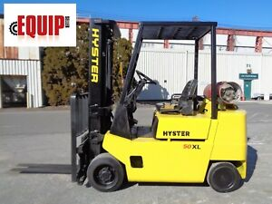 Hyster S50xl 5 000lbs Forklift Propane Side Shift