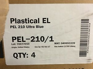 Fujifilm Plastical El Uv Screen Print Ink Pel 210 Ultra Blue 1 gallon