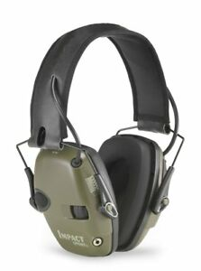 Howard Leight By Honeywell Impact Sport Shooters Electonic Earmuffs Hunter Green