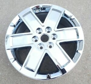 20 New Gmc Acadia 2010 2012 2013 2014 2015 2016 Chrome Clad Wheel Rim 5513 Ppe