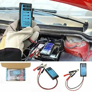 New All Sun Gk503 Mini 12v Automotive Car Battery Tester Charger Cranking Check