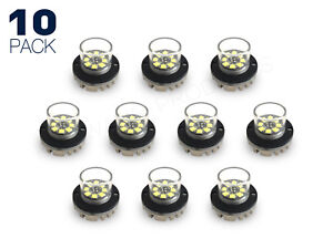 8 Led Hide away Emergency Strobe Kit Fire Tow Truck Wrecker Pickup 10 Pack