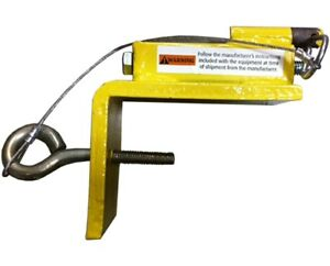Guardian 4 Top Clamp For Bracket Frame Hanging Scaffold Yellow New Steel