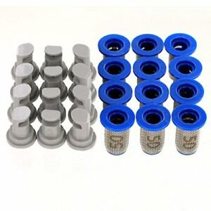 12 Pack Hypro 30dt3 0 Deflectip Spray Nozzles W Teejet 8079 pp 50 Strainers