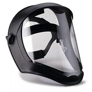 Uvex S8510 Bionic Face Shield With Clear Polycarbonate Visor W Anti fog Coating