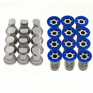 12 Pack Hypro 30dt3 0 Deflectip Nozzles W Teejet 4193a pp 10 50ss Strainers