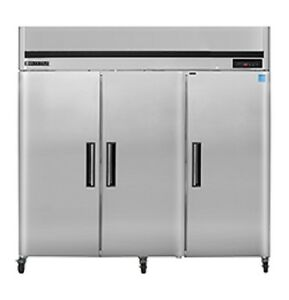 New Maxx Cold 3 Door Reach in Freezer 81 Mxcf72fd Free Shipping