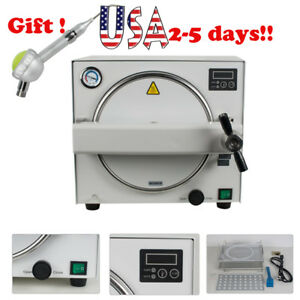 Medical Dental Autoclave Steam Sterilizer Autoclaves Sterilier 18l Air Polisher