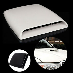 Scoop Decal New Universal Plastic Air Flow Auto 3d Bonnet Cover Car Intake Hood
