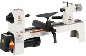 1 3 Horsepower Benchtop Wood Lathe Cut Bench Machine Woodworking Variable Speed