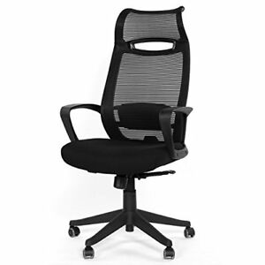 Greenforest Ergonomic Office Chair High Back With Headrest Swivel Mesh Comput
