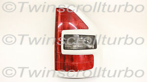 Mitsubishi Montero 2001 2002 Right Passenger Tail Light W White Trim