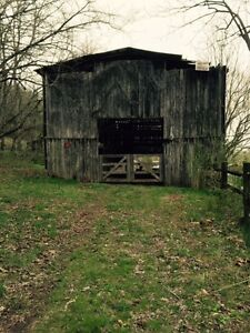 Antique Tennessee Barn Reclaimed Wood Millwork Lumber 70 X 40 X 18