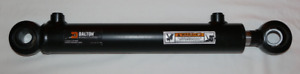 Hydraulic Cylinder Welded Double Acting 2 Bore 12 Stroke Swivel Eye End 2x12