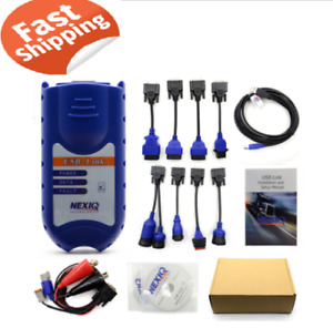 Nexiq 125032 Full Set Usb Link Diesel Heavy Duty Truck Diagnostic Tool Software